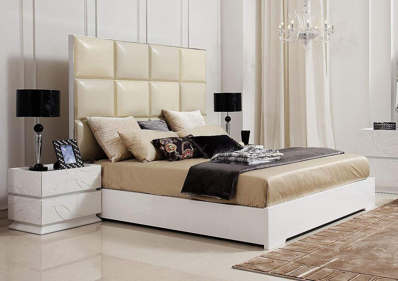 contemporary bed headboard
