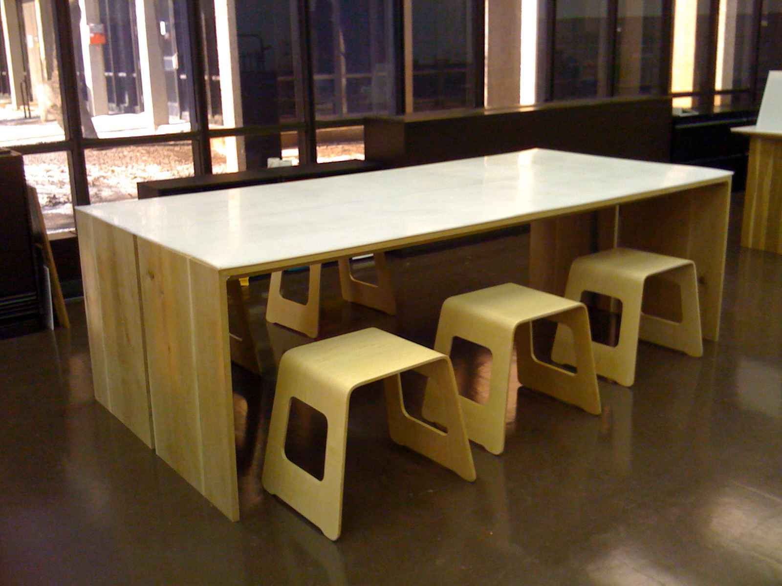 Contemporary Wooden Used Home Office (Image 3 of 10)