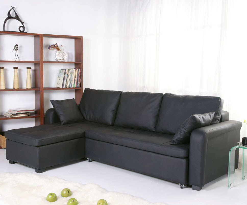 Convertible Sectional Sofa Bed (Image 5 of 10)