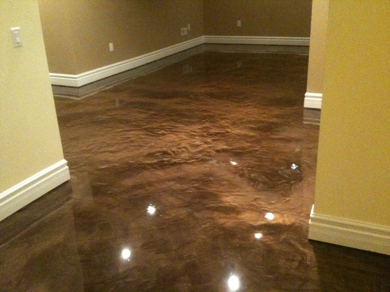 epoxy basement floor paint option