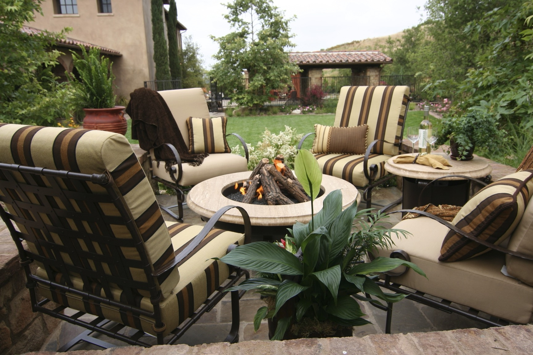 Garden Treasures Patio Furniture Replacement Cushions (Image 3 of 10)