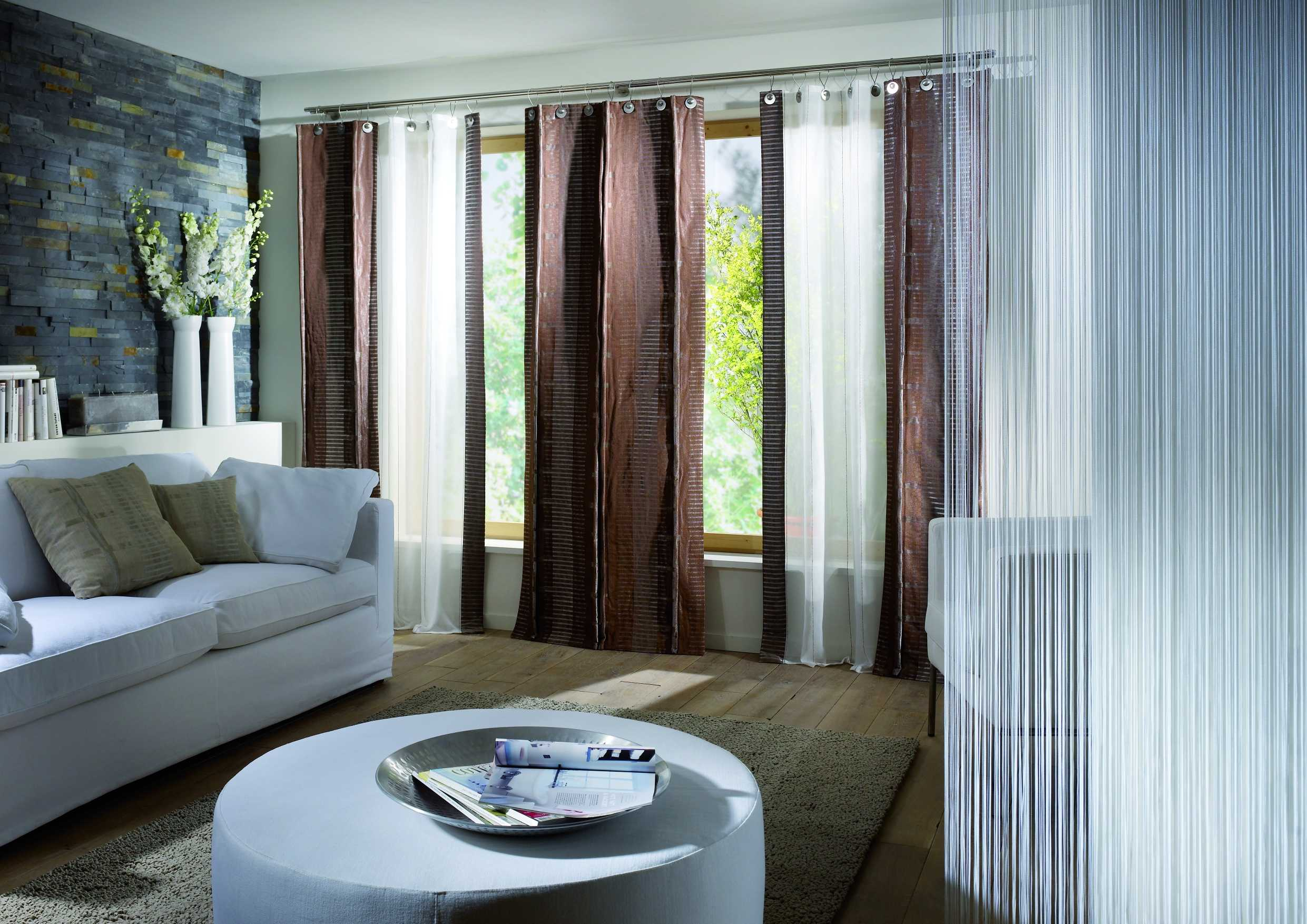 Marvellous Curtains For A Living Room Window (Image 9 of 10)