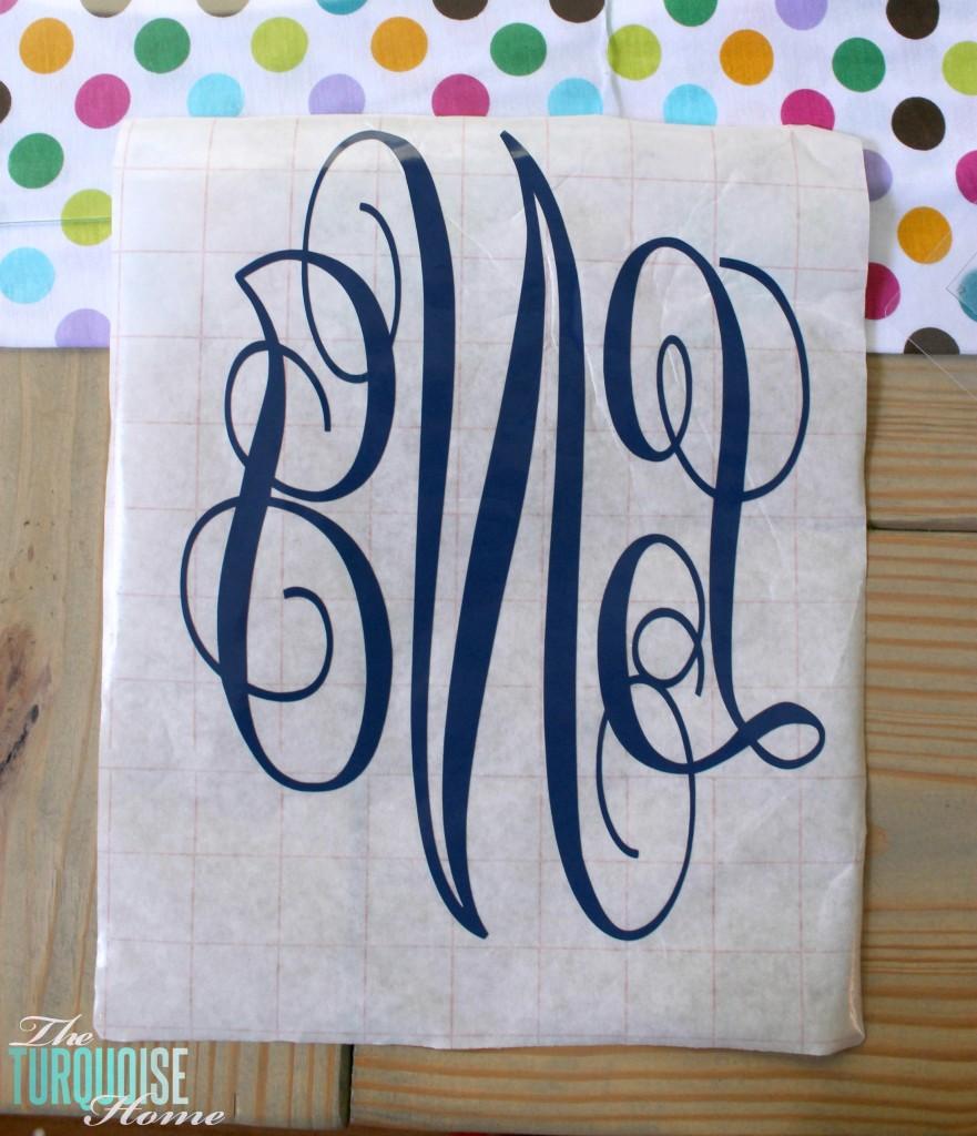 Monogram Custom Towel