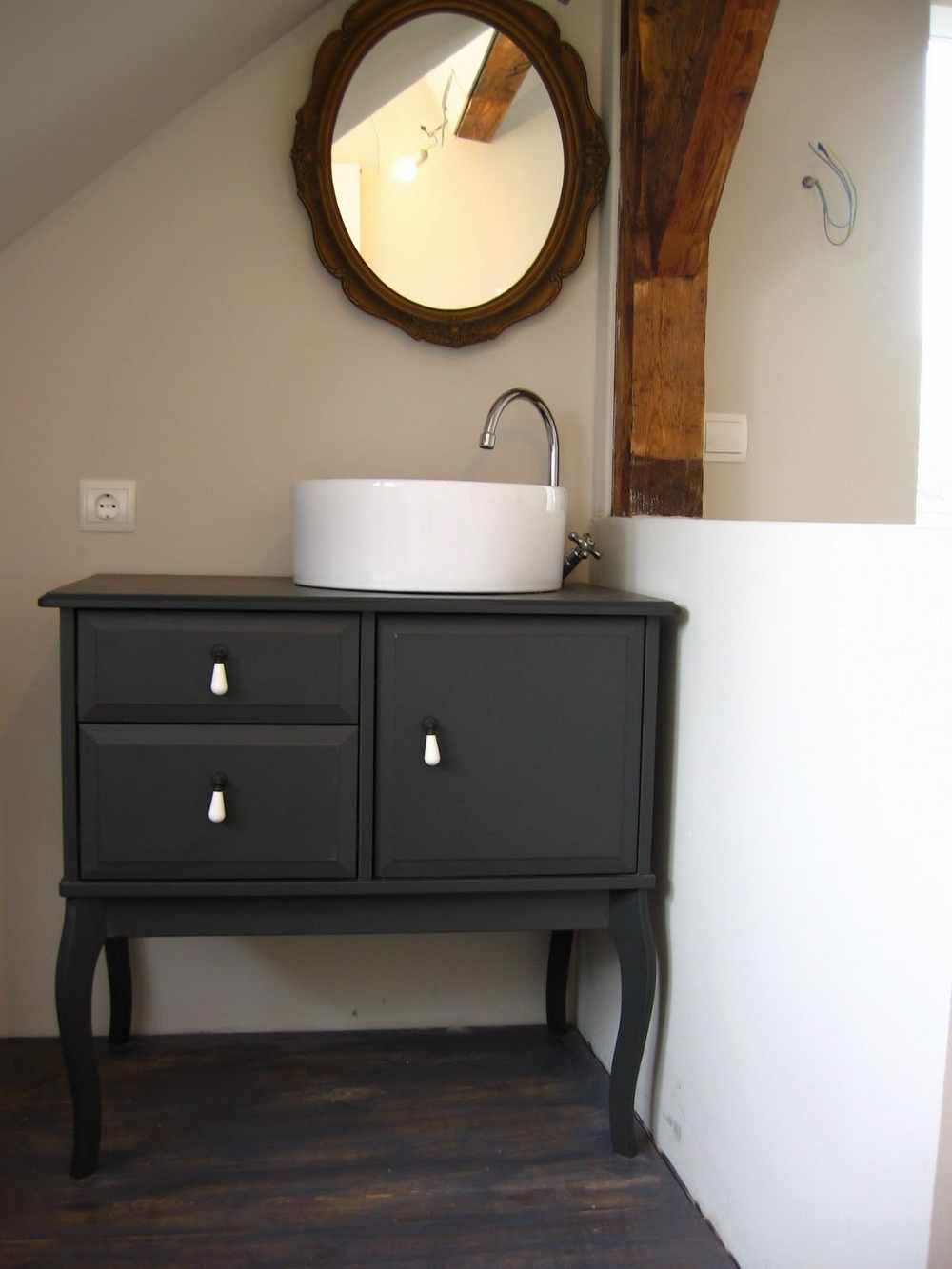 Practical Bathroom Vanity Cabinet (Image 9 of 10)