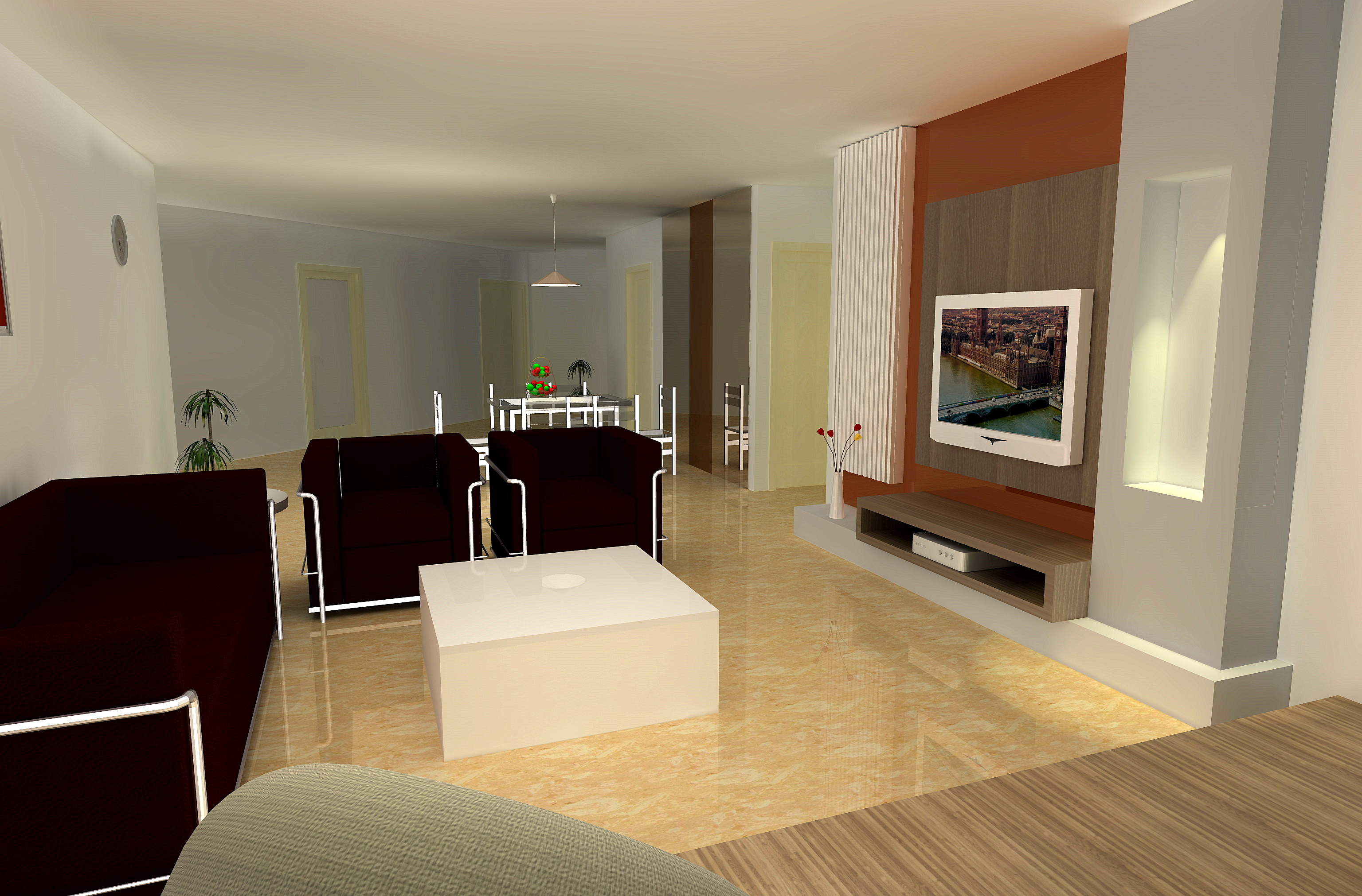 Stylish Modern Luxury Living Room Furniture (View 2 of 10)