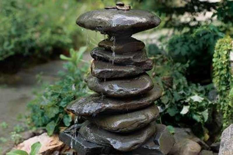 2015 garden stone fountain