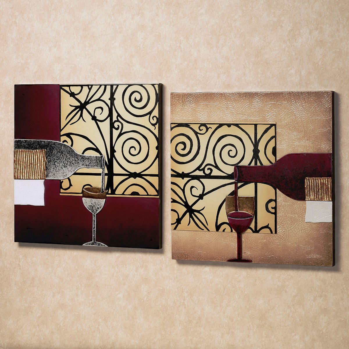 Best Wine Wall Art Ideas (Image 3 of 15)