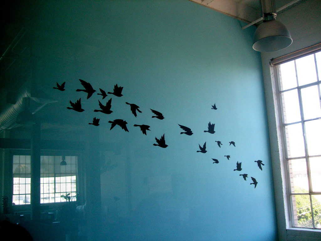 Birds Wall Art Ideas (Image 4 of 15)