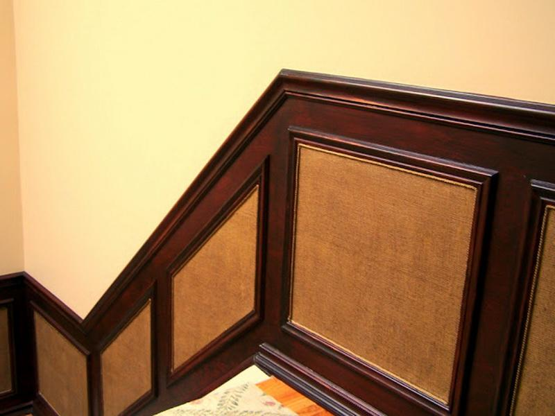 Brown DIY Wainscoting (Image 2 of 10)