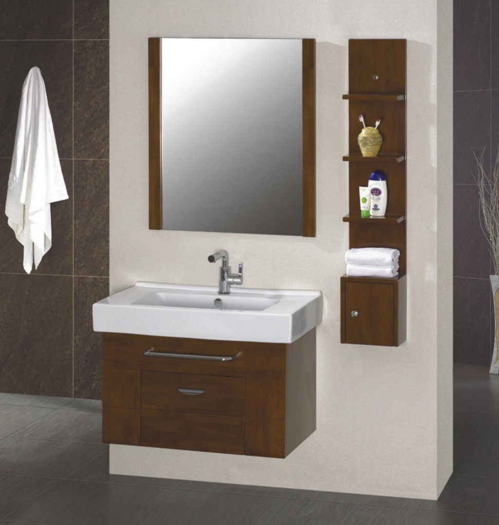 Brown IKEA Bathroom Vanity Ideas Designs (Image 1 of 10)