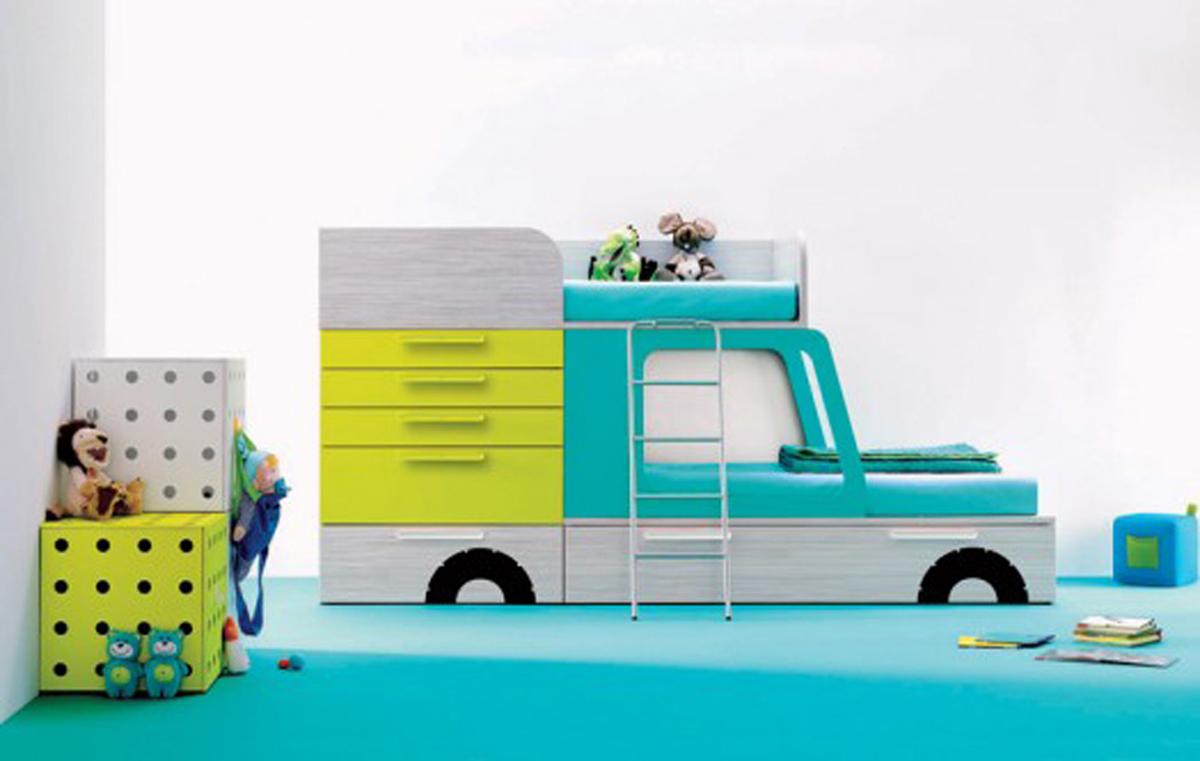 Cars Playful Loft Bed For Your Children (Image 1 of 10)