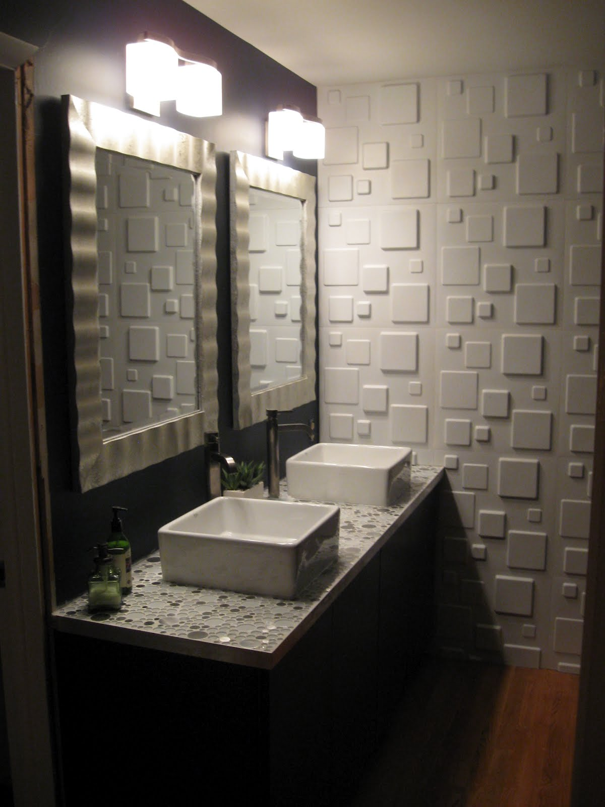Ikea bathroom vanity ideas designs custom home design for Cool bathroom ideas