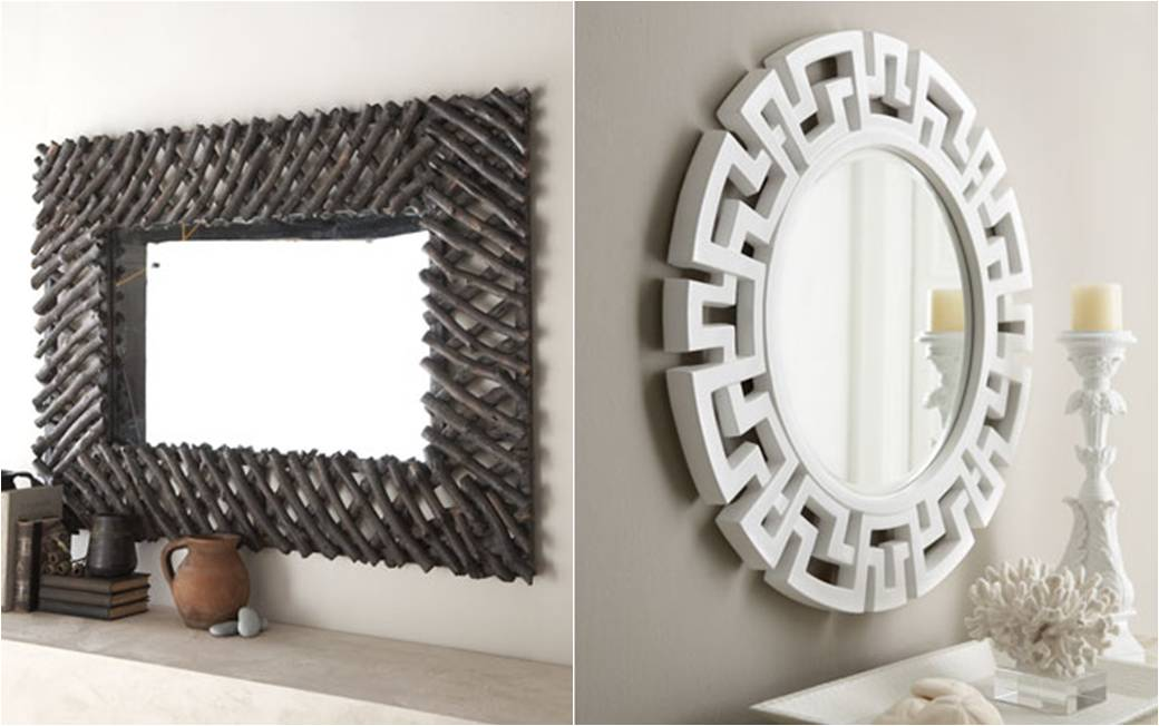 cool interior home decor mirrors image 2 of 10 - Home Decor Mirrors
