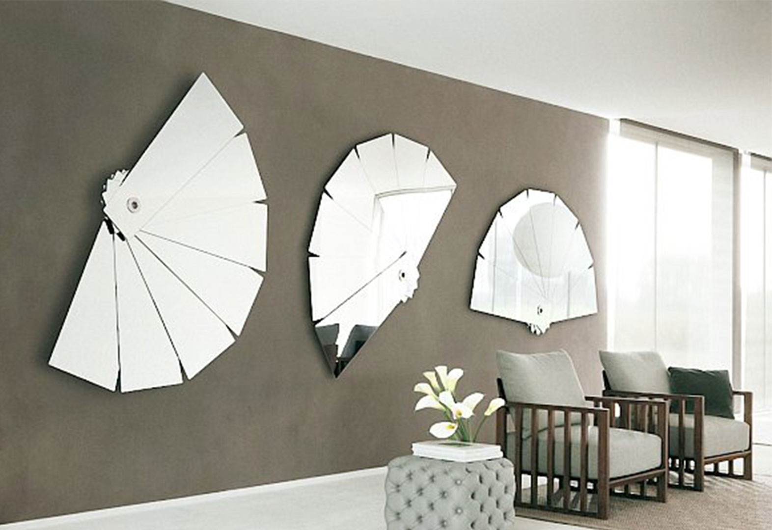Creative Interior Home Decor Mirrors (View 3 of 10)