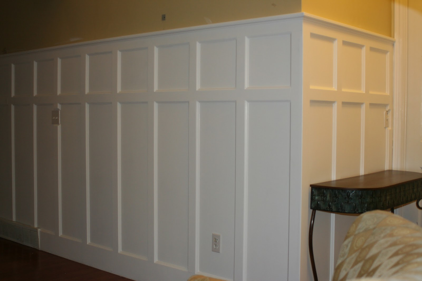 DIY Panel Installing Wainscoting Correctly (Image 3 of 10)