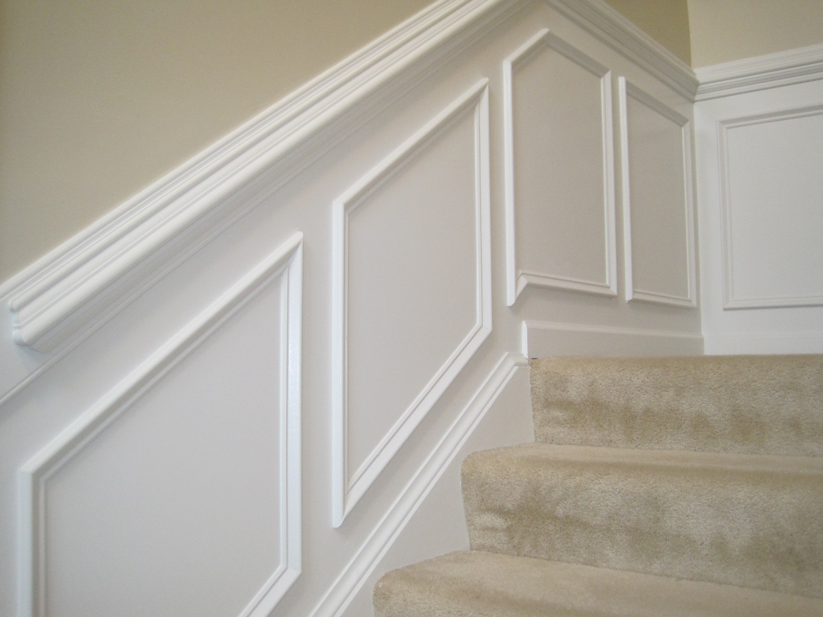 Elegant White Installing Wainscoting Correctly