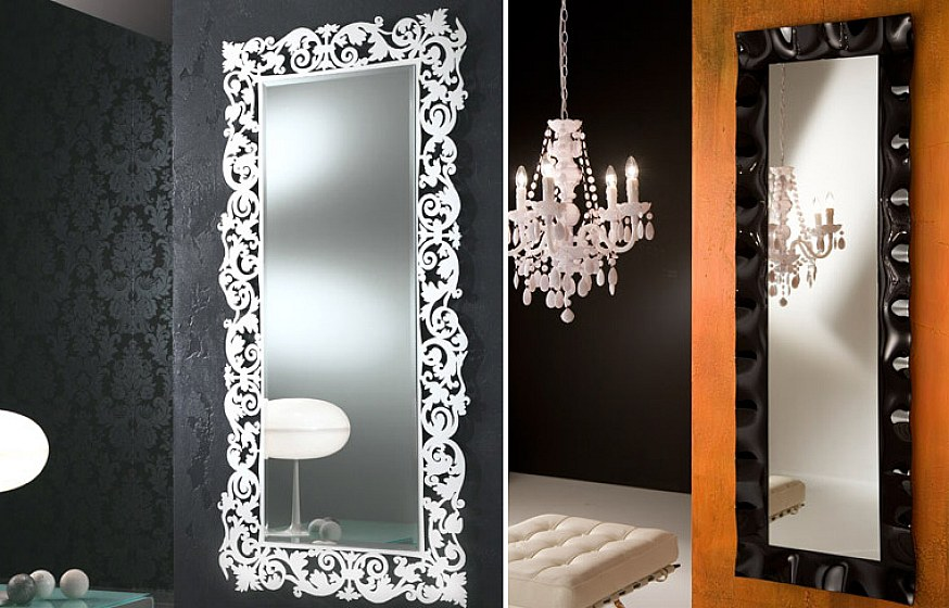 elegant and modern interior home decor mirrors image 4 of 10 - Design Wall Mirrors