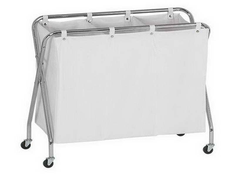 Folding Laundry Basket On Wheels Ideas (Image 2 of 10)