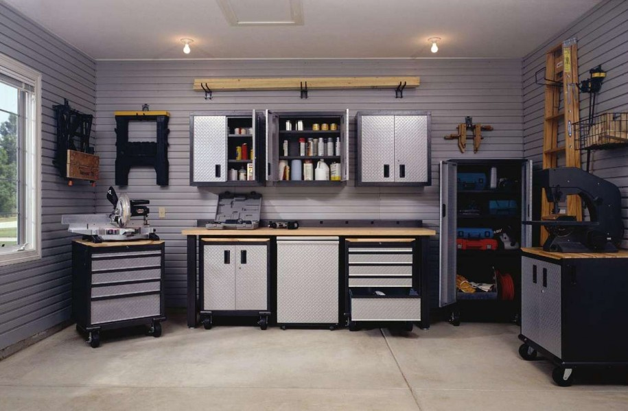 Good Garage Storage Ideas For Small Space Ideas (Image 2 of 10)