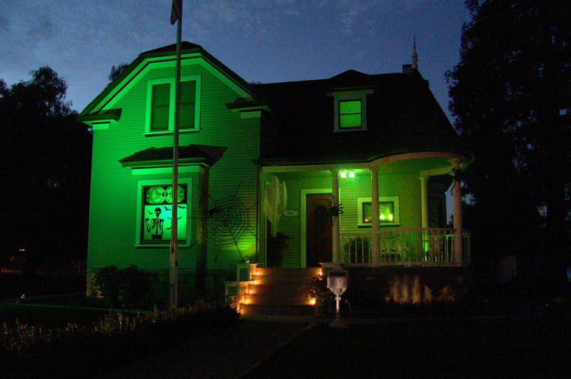 Green Halloween Lights Decorations By Giantmonster (Image 4 of 10)