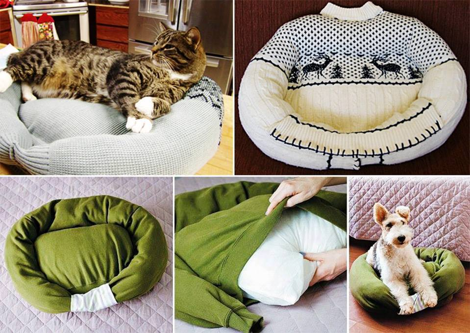 Homemade Cat Or Dog Bed (View 6 of 10)