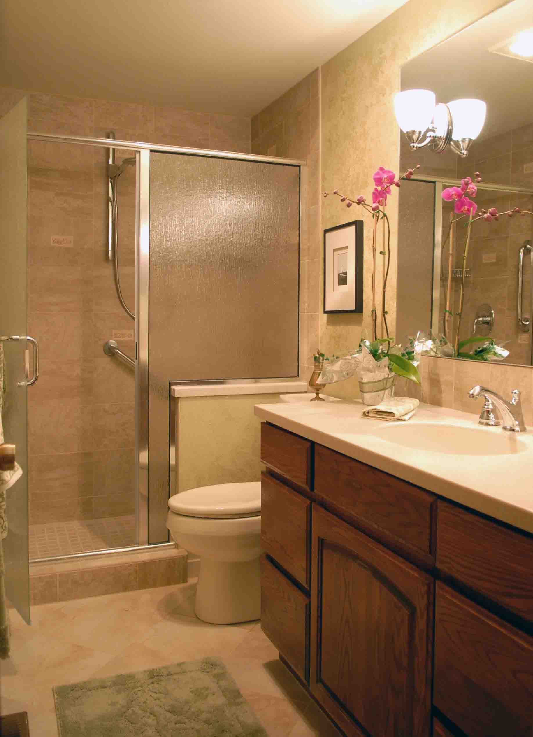 Small space bathroom ideas - Intresting Bathroom Ideas For Small Spaces Design Ideas Image 5 Of 10