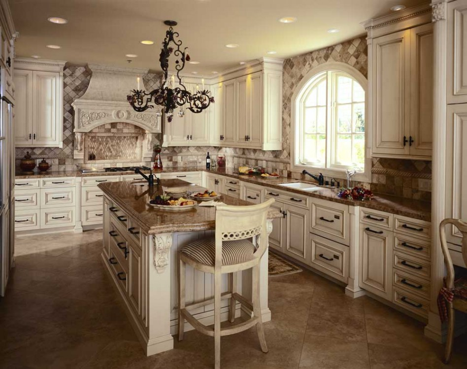 Kitchen Floor Adorable And Luxurious Kitchen Design Ideas (Image 5 of 10)