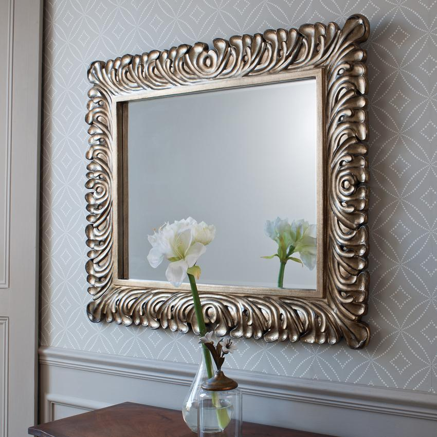 Large Interior Home Decor Mirrors
