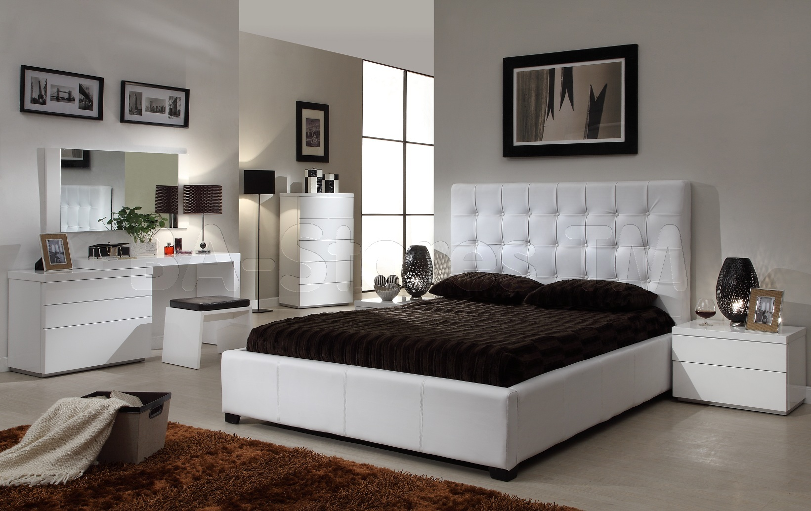 Luxury Queen Size Bed Dimensions Ideas (Image 6 of 10)