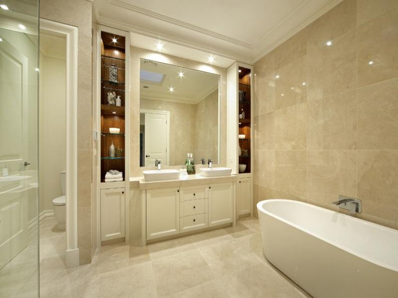 Marble In A Bathroom Design (Image 6 of 10)