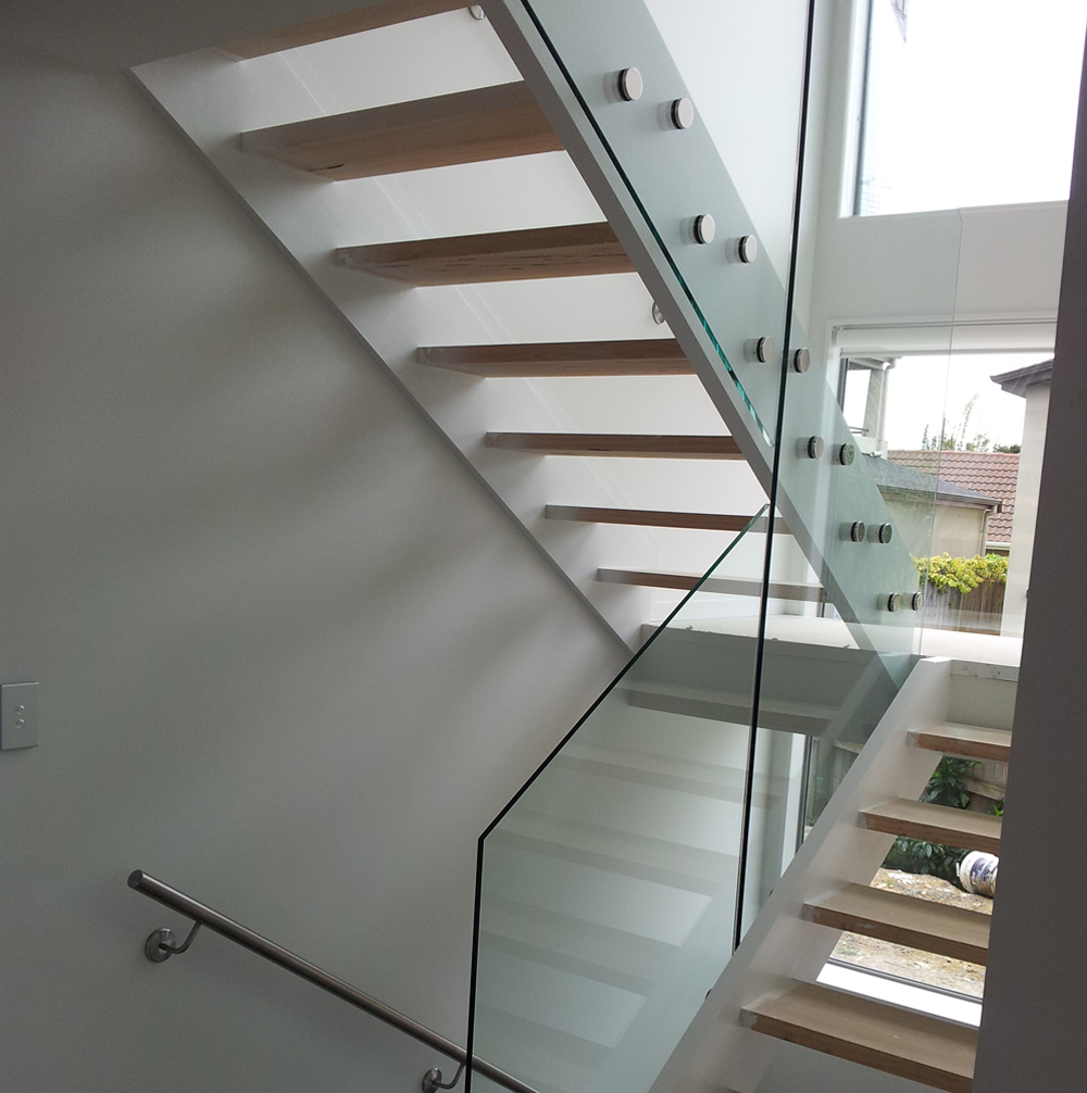 Metal And Wood Advantage Treads (Image 6 of 10)