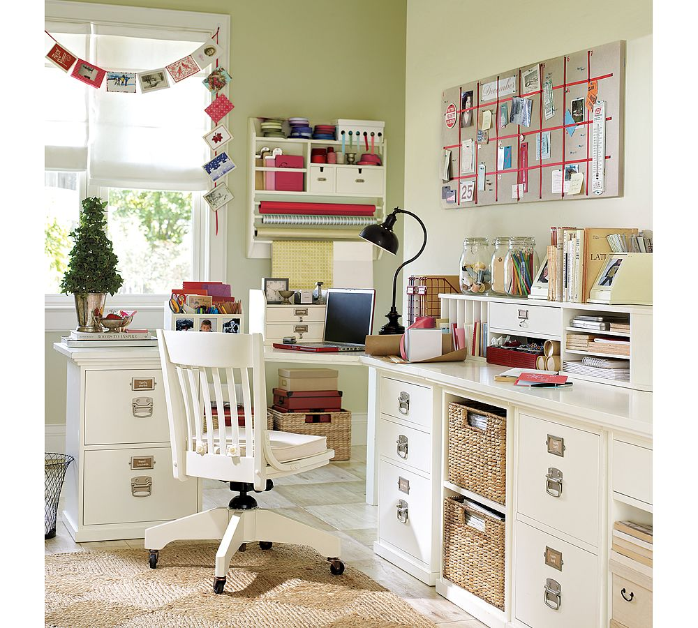 Modern Clever Home Office Decor Ideas (Image 4 of 13)