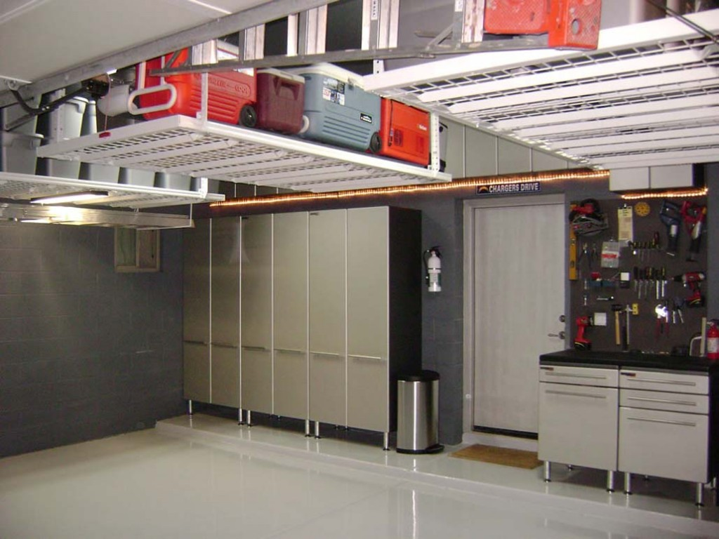 Modern Neat Garage Cabinet Plans Ideas