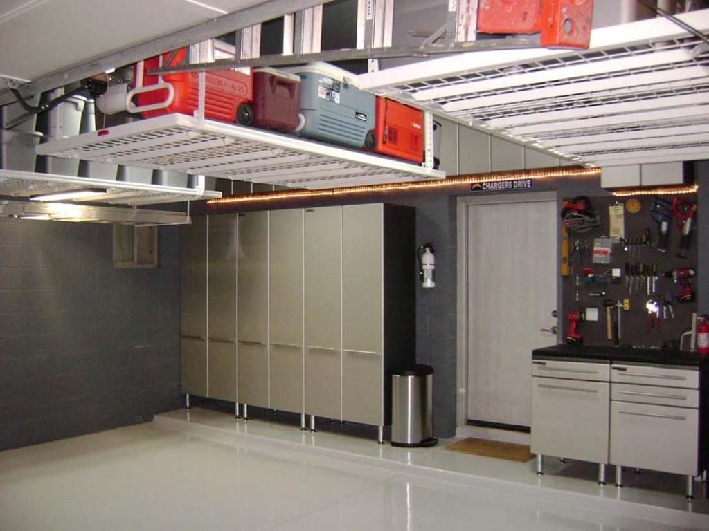 Modern Neat Garage Cabinet Plans Ideas