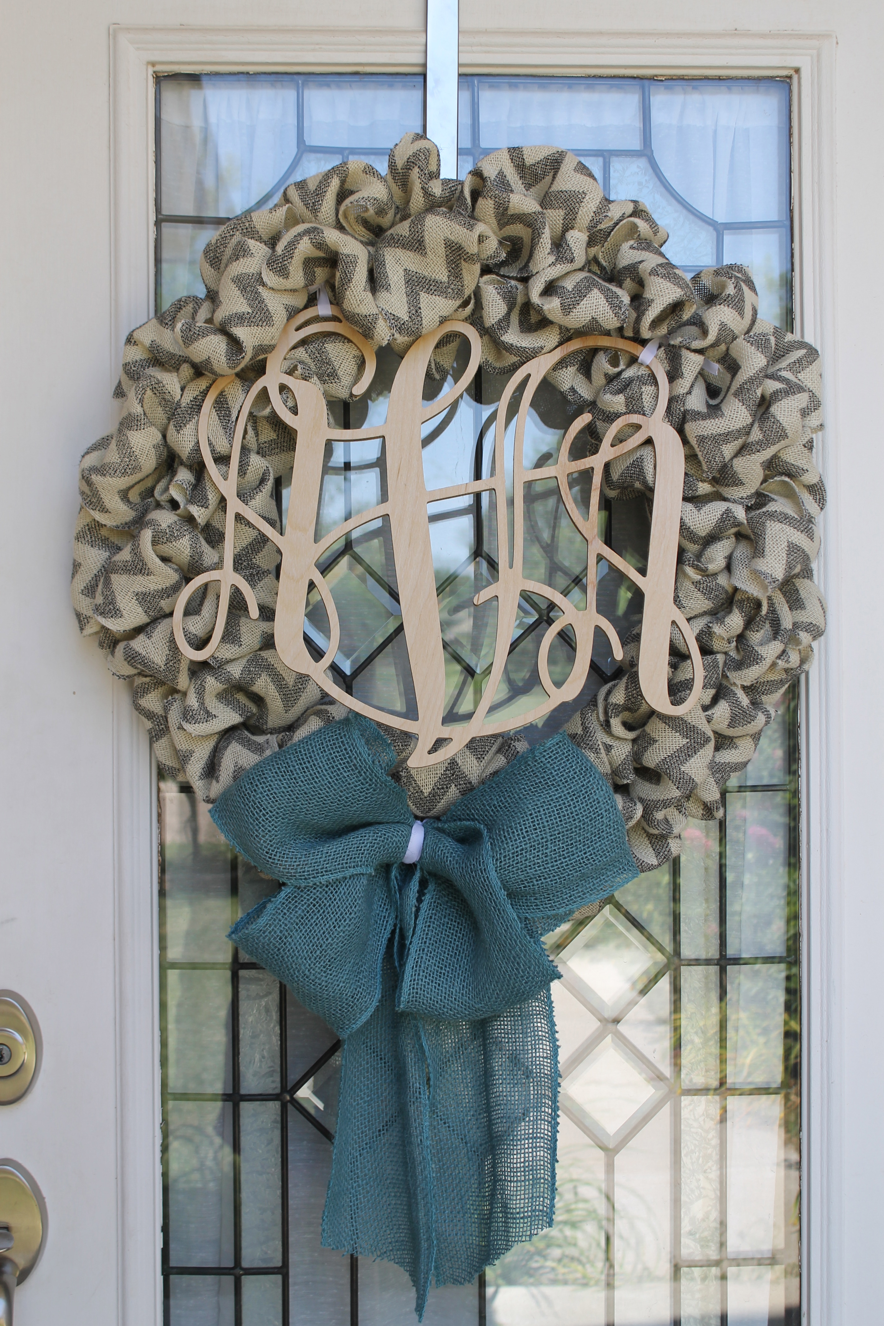 Monogram For In Front Of Door Home Decorating Accessories Ideas (Image 4 of 10)