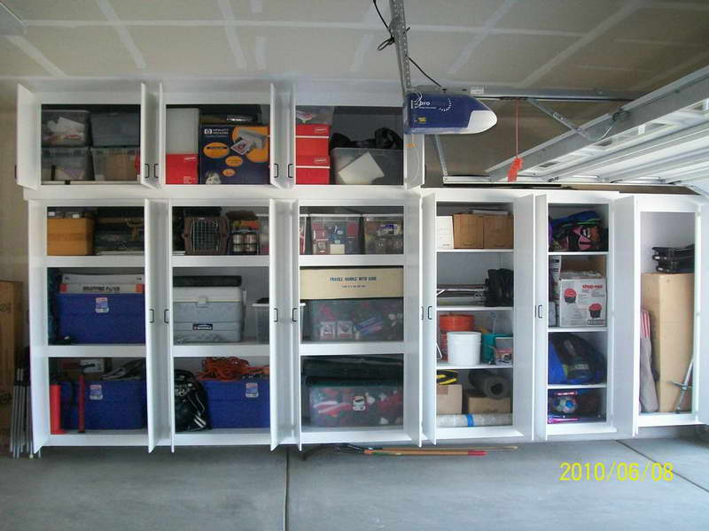 Neat Garage Cabinet Plans Ideas (View 7 of 10)
