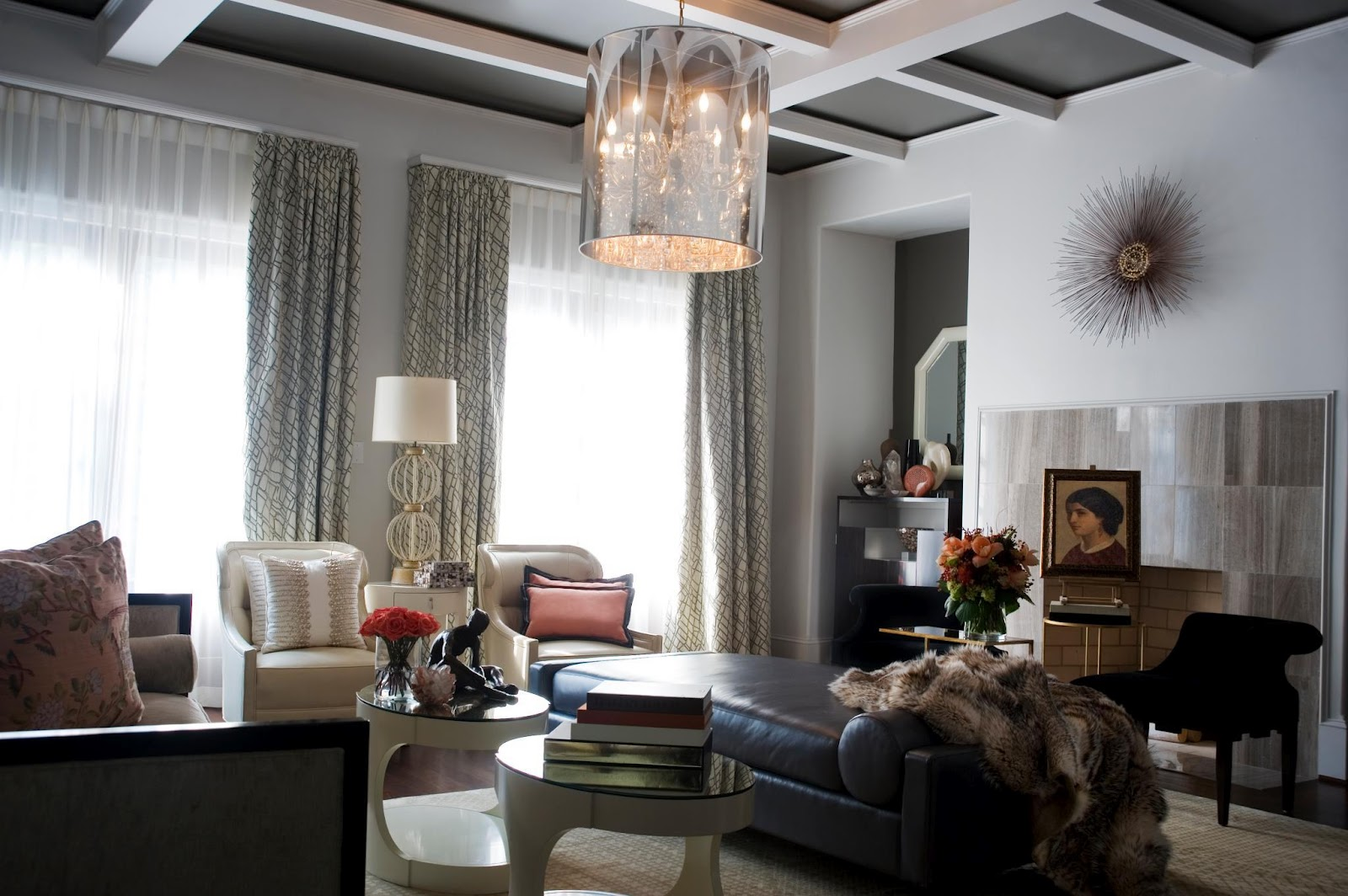 Relaxing Lamp Designers In Living Room Decoration (View 9 of 10)
