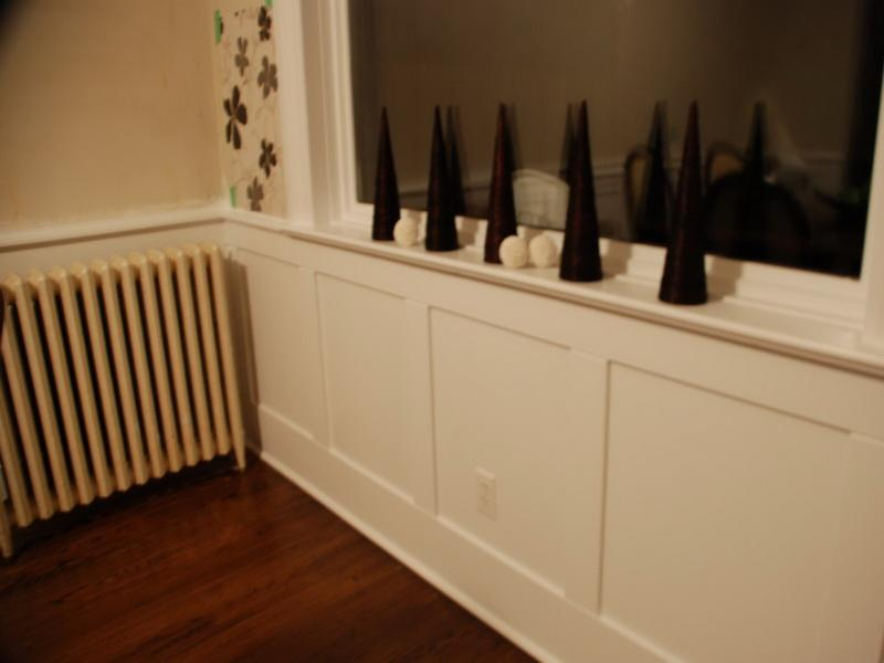 Remodeling DIY Wainscoting (Image 6 of 10)