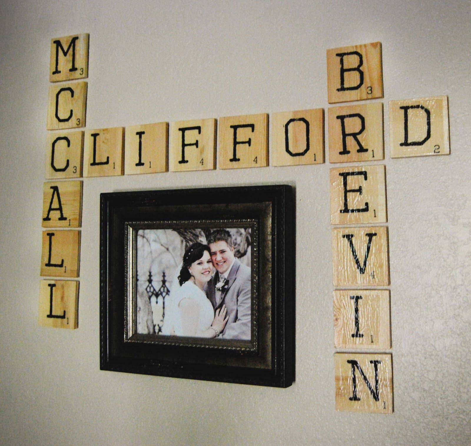 Scrabble Art For Wall Ideas (Image 14 of 15)