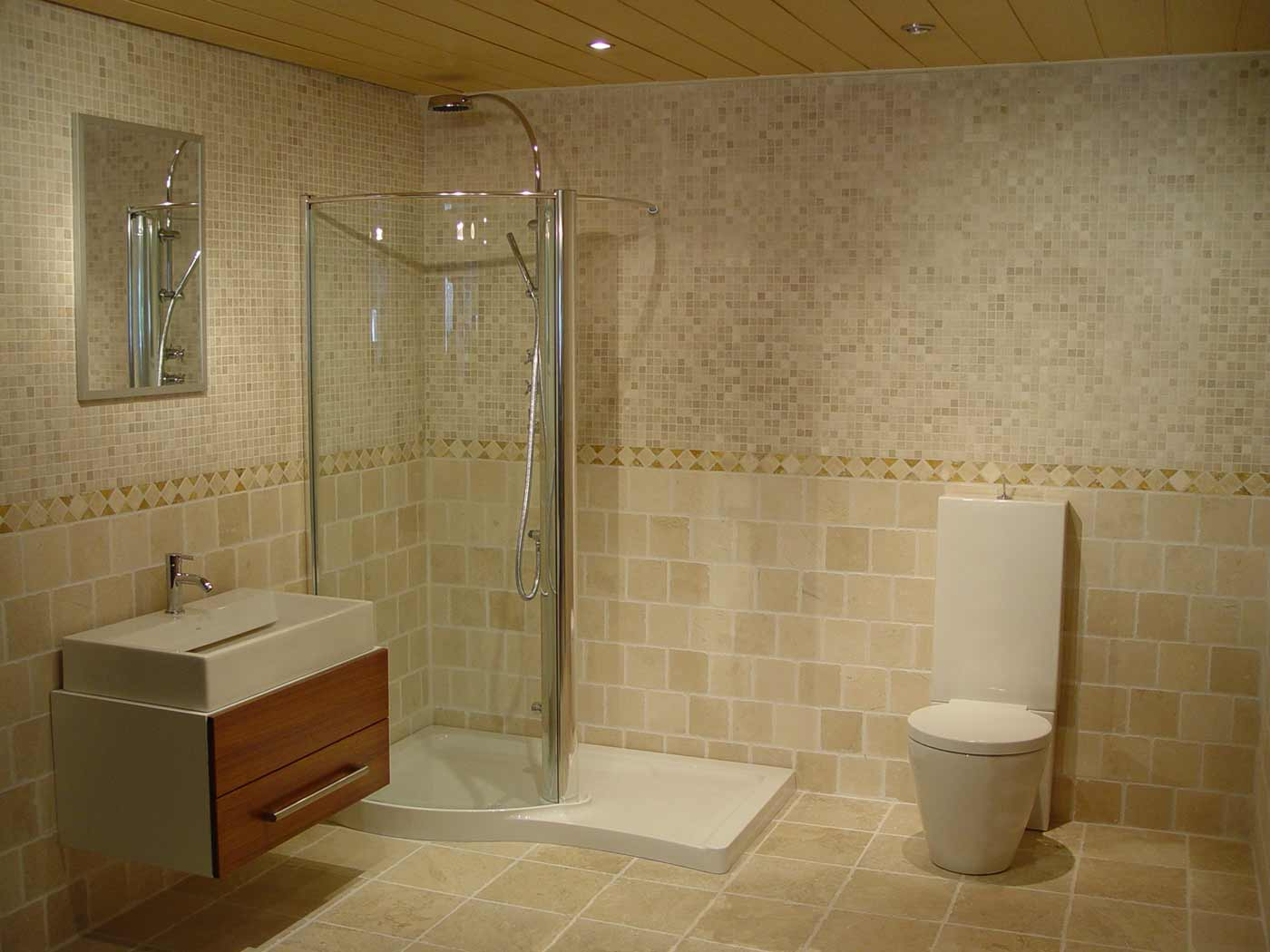 Simple Bathroom Ideas For Small Spaces Design Ideas (View 9 of 10)