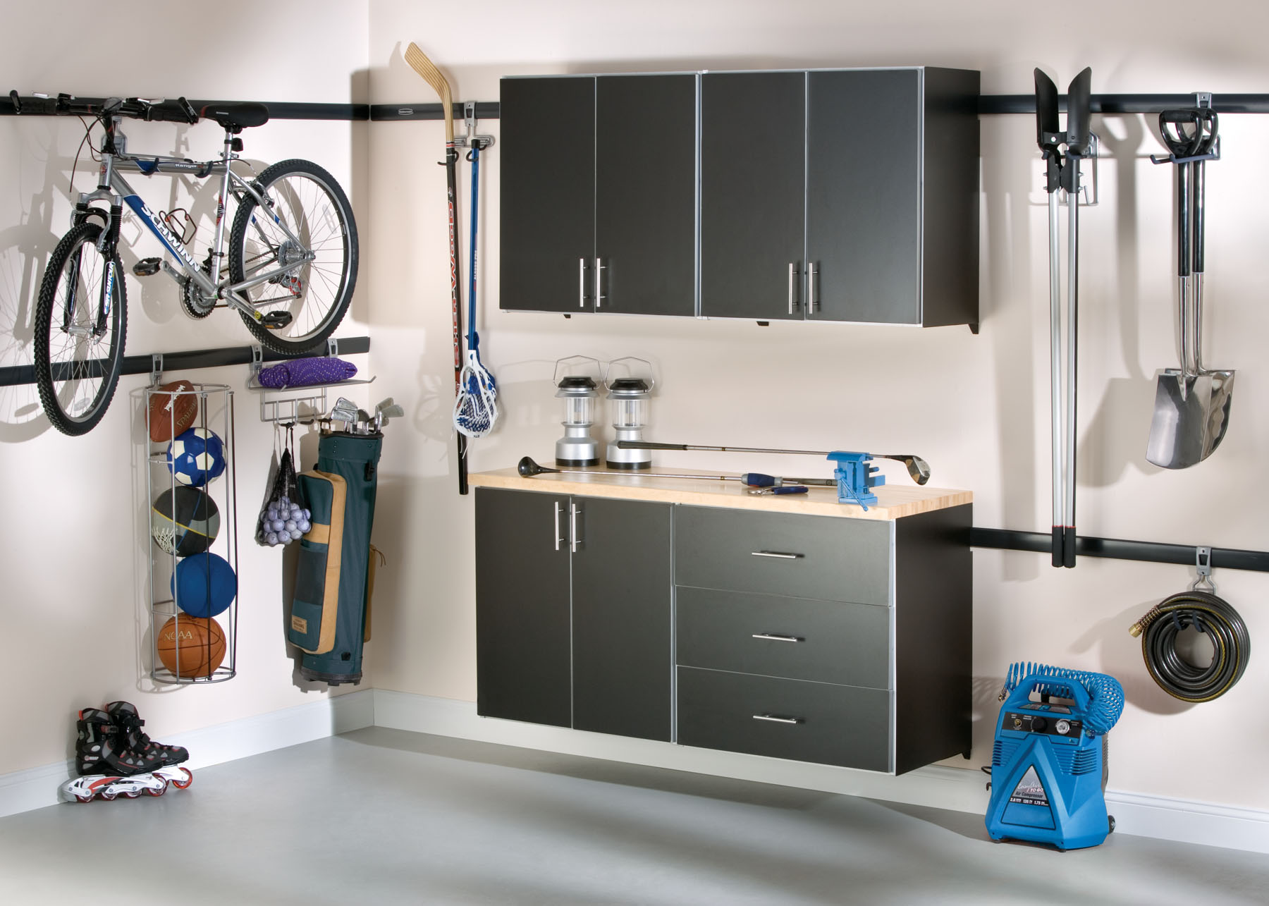 simple garage storage ideas for small space ideas image 10 of 10 - Storage Design Ideas