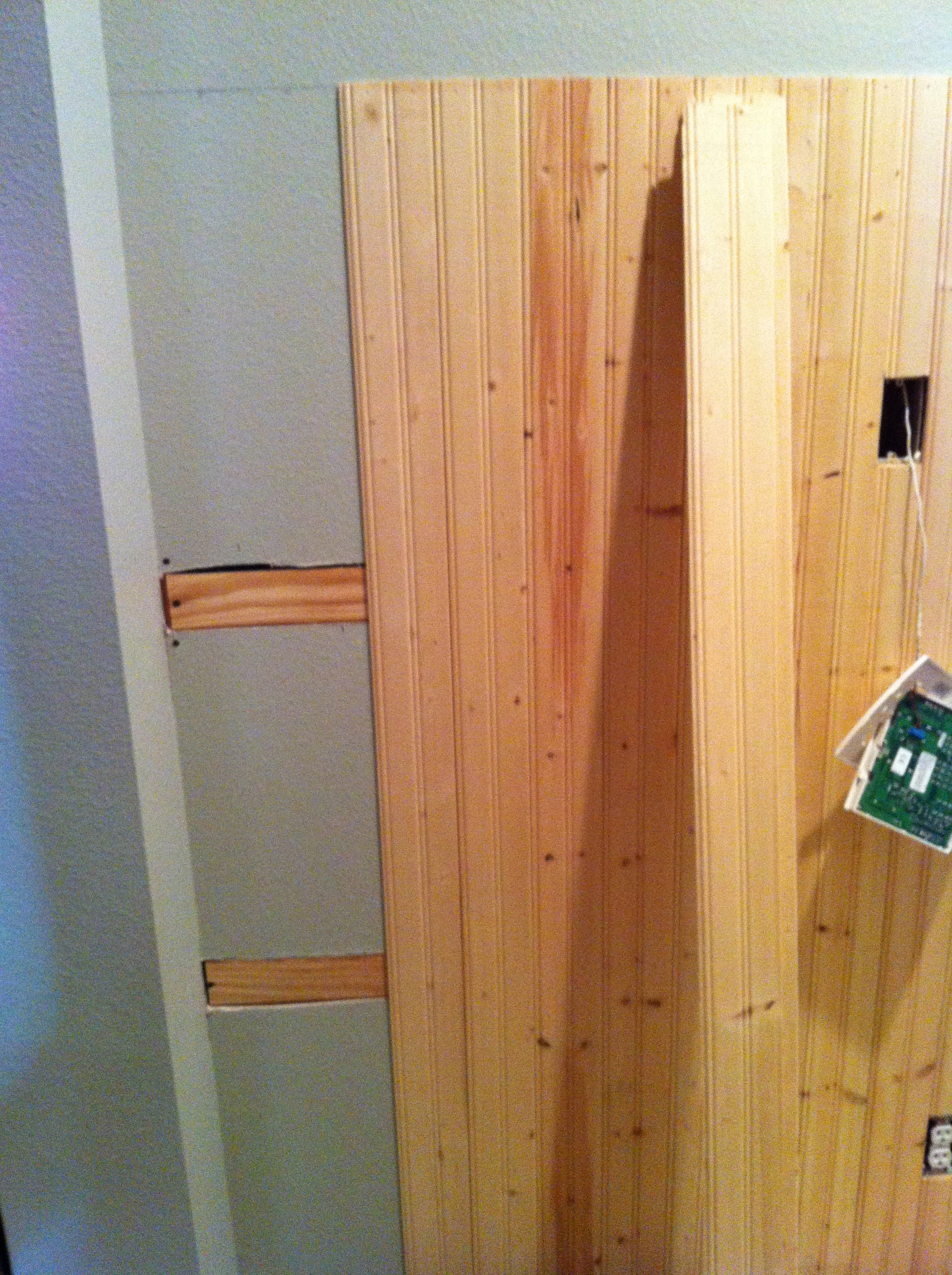 Simple Installing Wainscoting Correctly (Image 7 of 10)