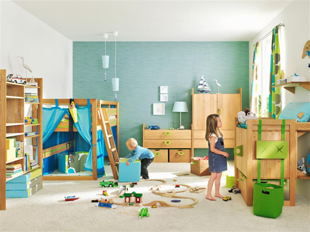 Simple Loft Bed For Your Children (Image 8 of 10)