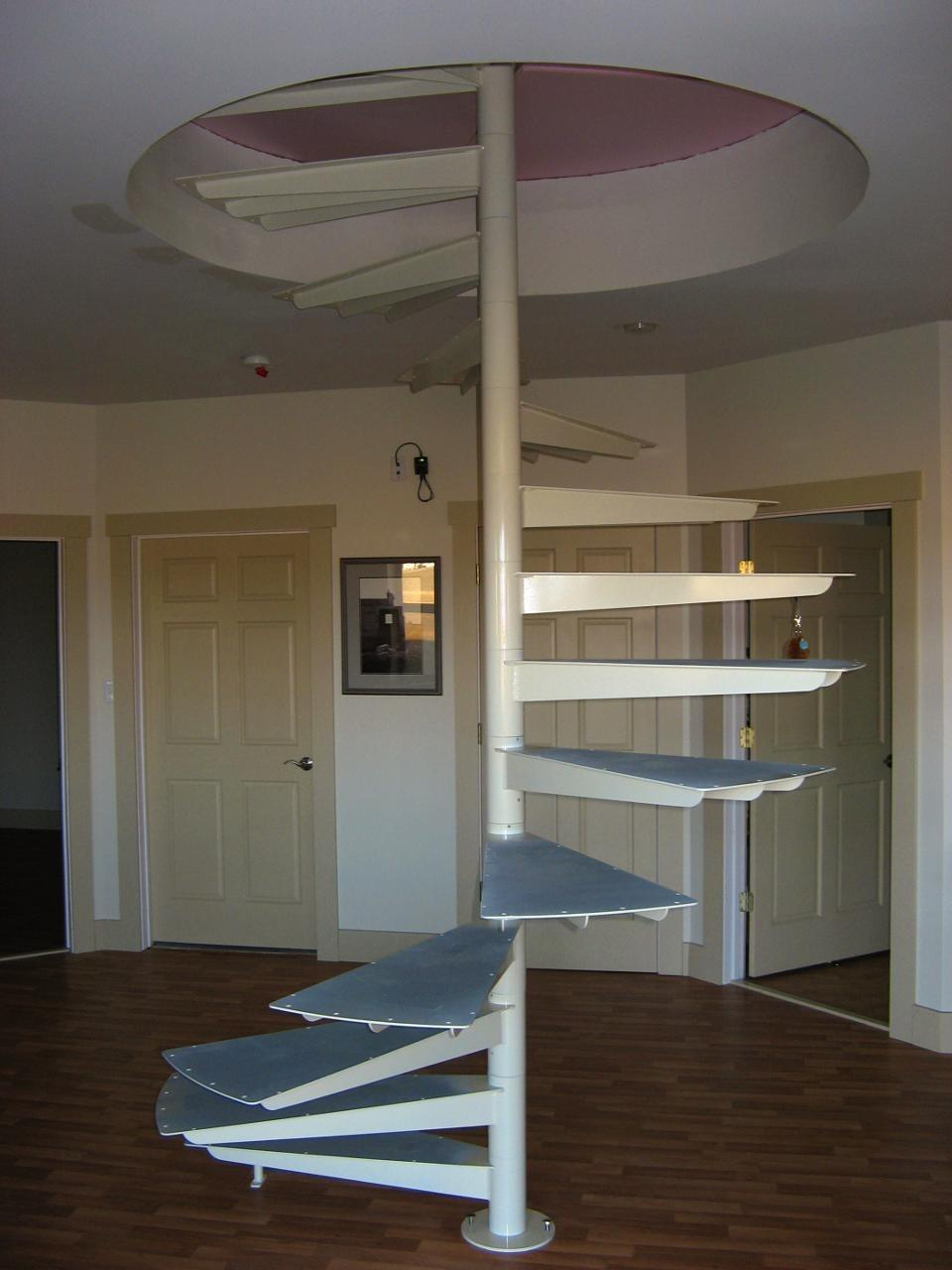 Simple Spiral Ways For Selecting Railings (Image 7 of 10)