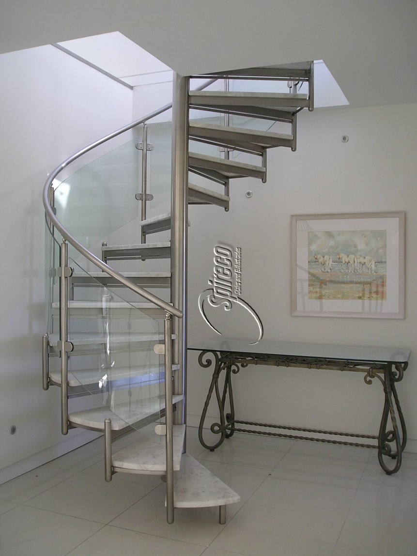 Spiral Ways For Selecting Railings (Image 8 of 10)