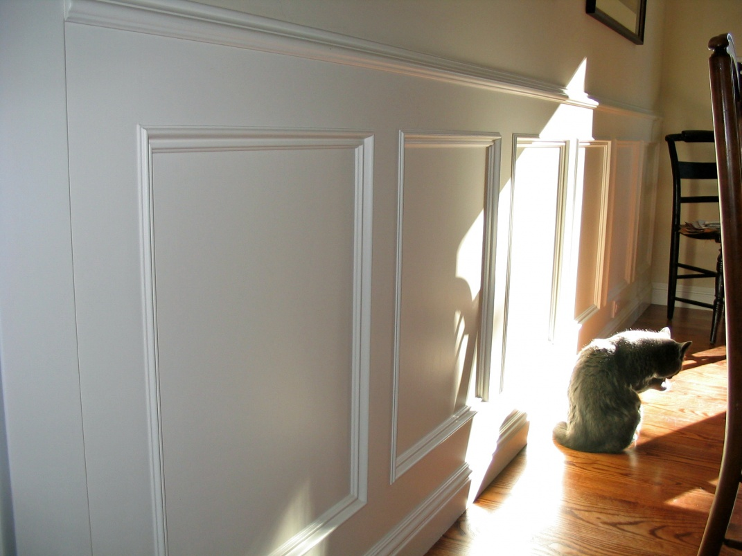 Square Installing Wainscoting Correctly