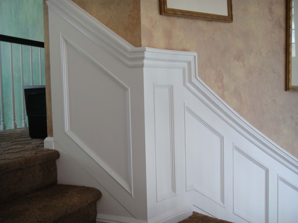 Staircase Wainscot Detail (Image 9 of 10)