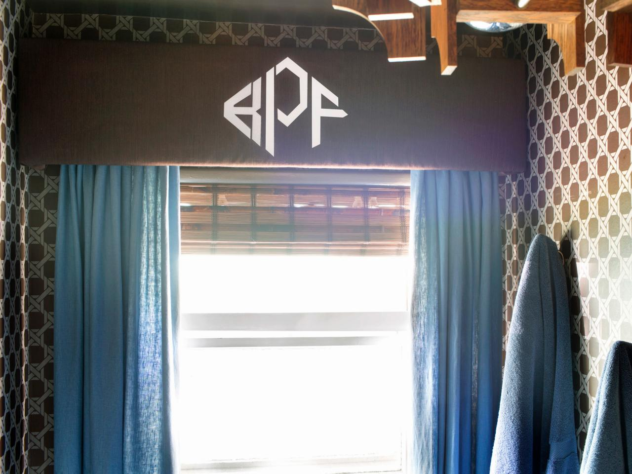 Stenciled Monogram Home Decorating Accessories Ideas (View 8 of 10)