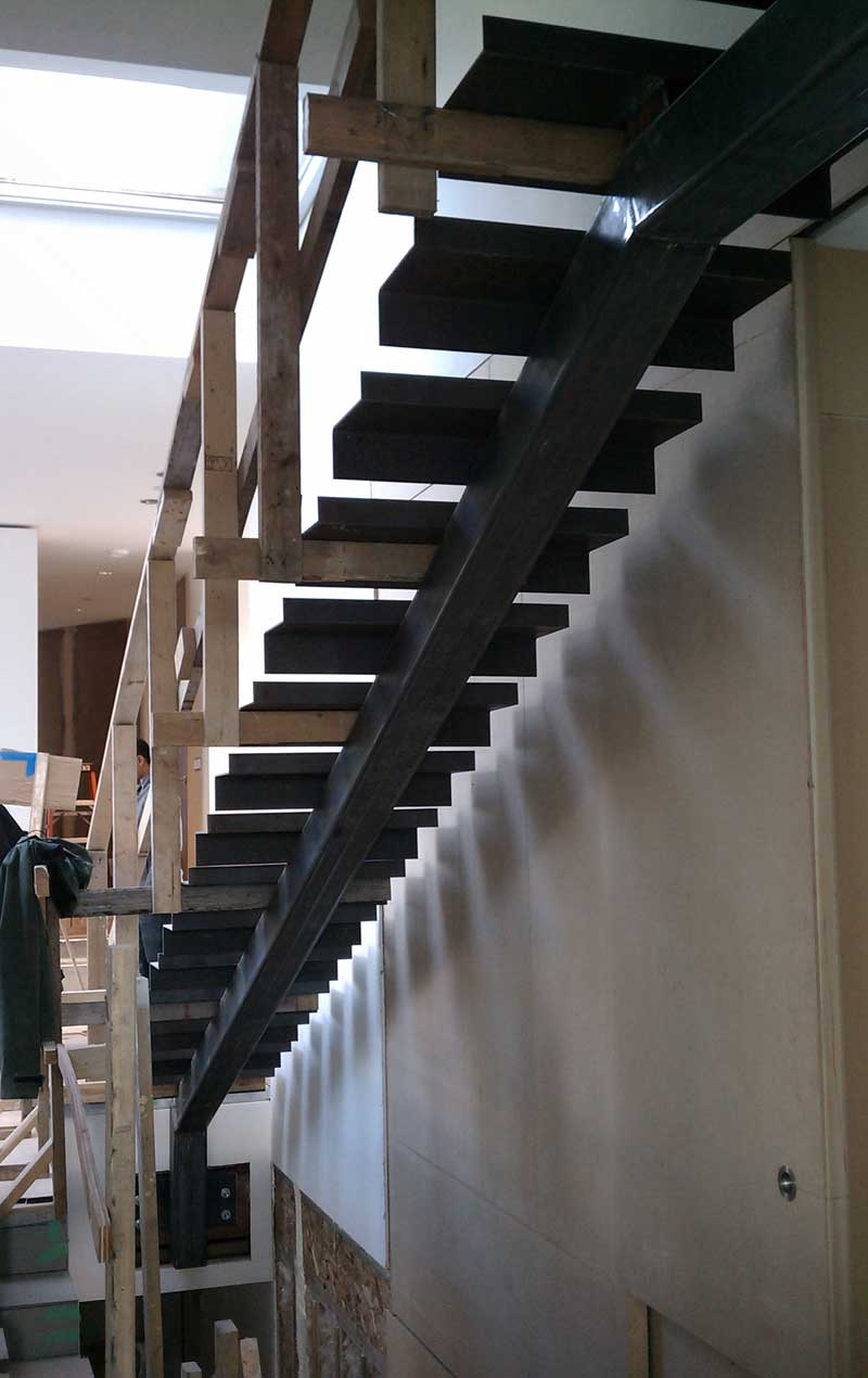 Stringer Advantage of Metal Stair Treads
