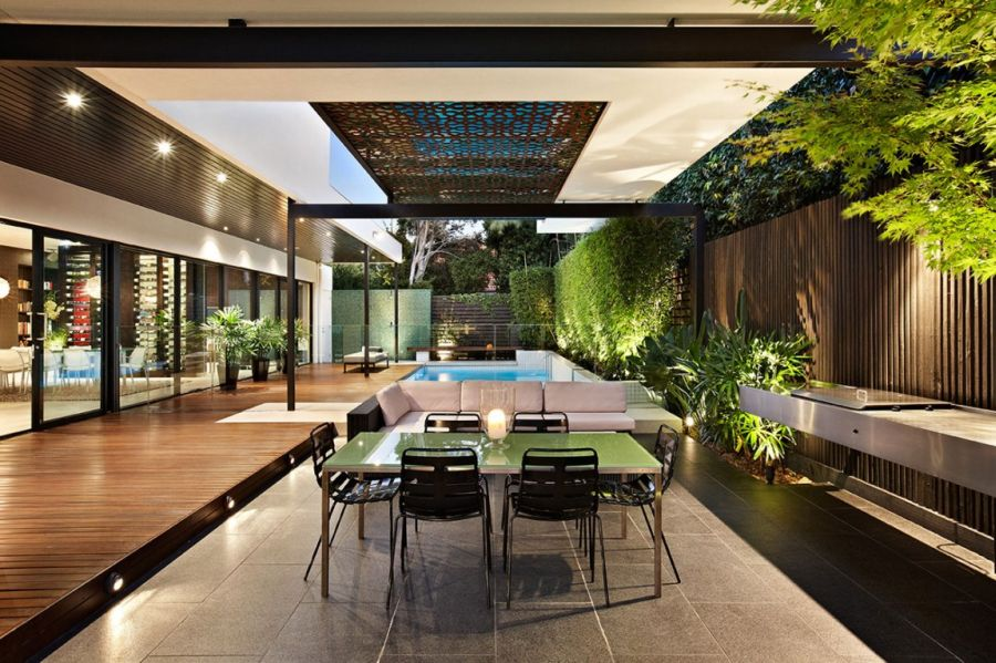 Stylish Outdoor Dining Idea